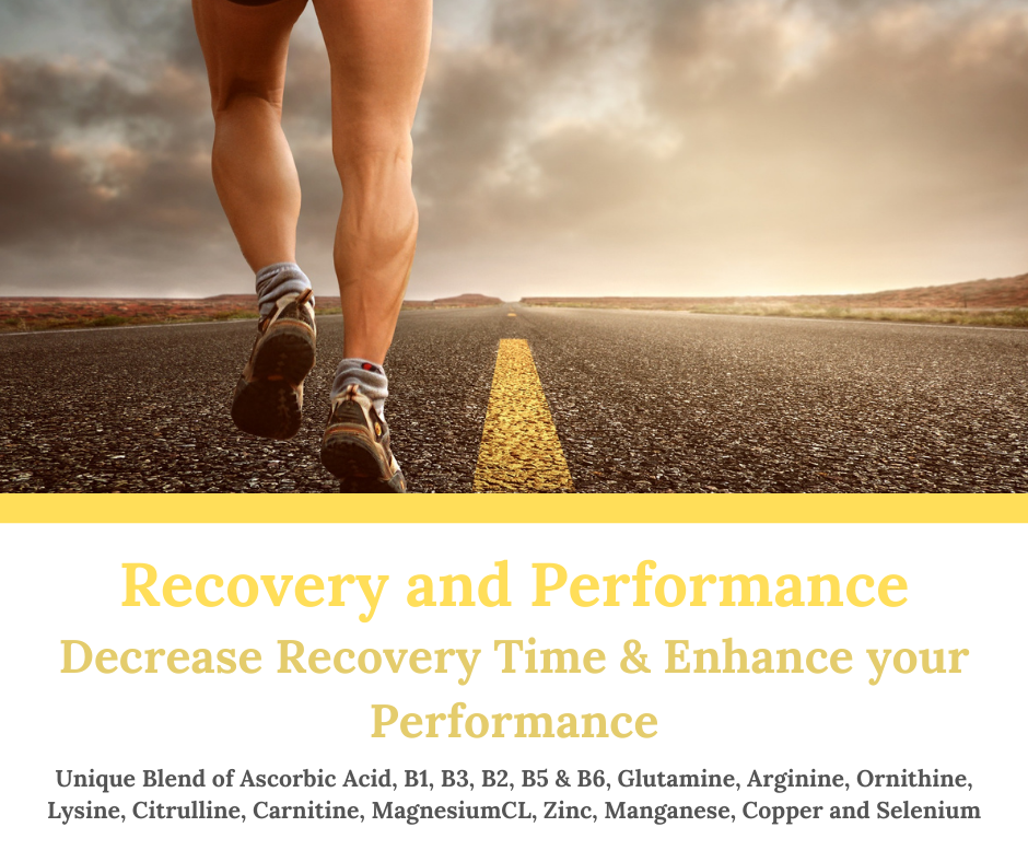 IV Therapy Recovery and Performance
